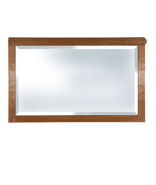 BE200 Solid Oak Landscape Wall Mirror 4'0