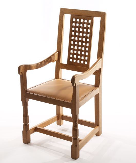 CH130 Solid Oak Coxwold Arm Chair