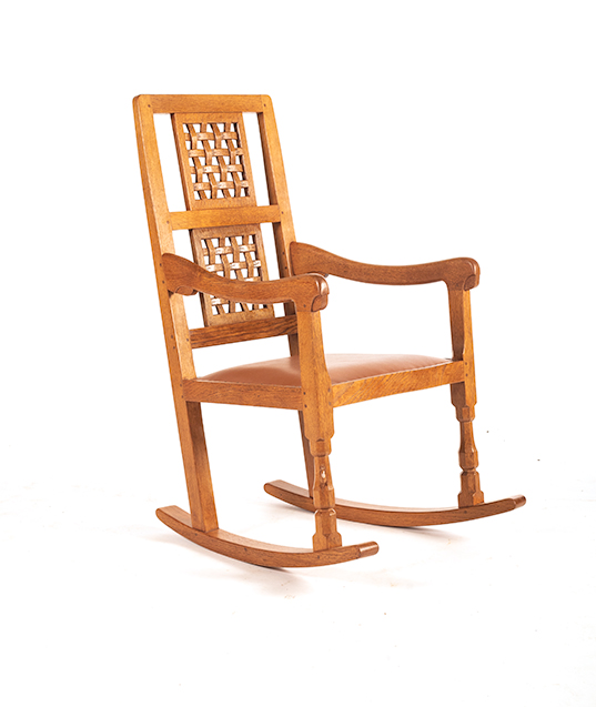 CM57 Classic Mouseman Rocking Chair SOLD