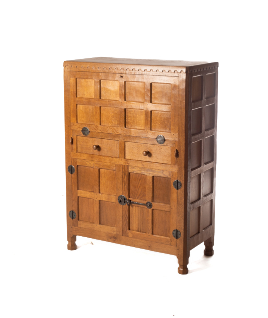 CM69 Classic Mouseman Cocktail Cabinet   SOLD