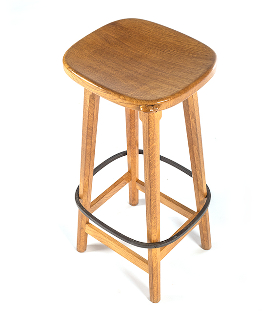 CM58 Classic Mouseman  Pair of Bar Stools  SOLD