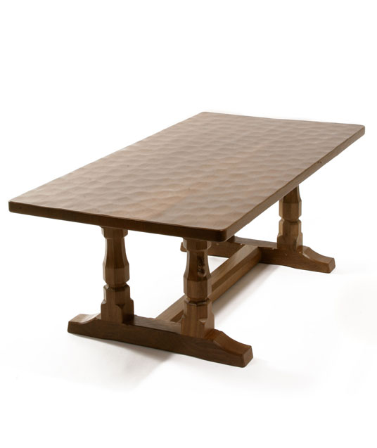 CT040 Solid Oak Refectory Coffee Table 4'0