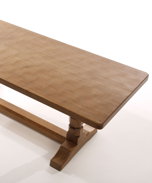 CT050 Solid Oak Refectory Coffee Table 4