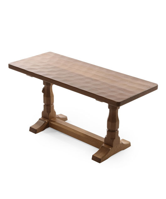 CT060 Solid Oak Refectory Coffee Table 3'0