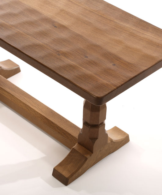 CT060 Solid Oak Refectory Coffee Table 3