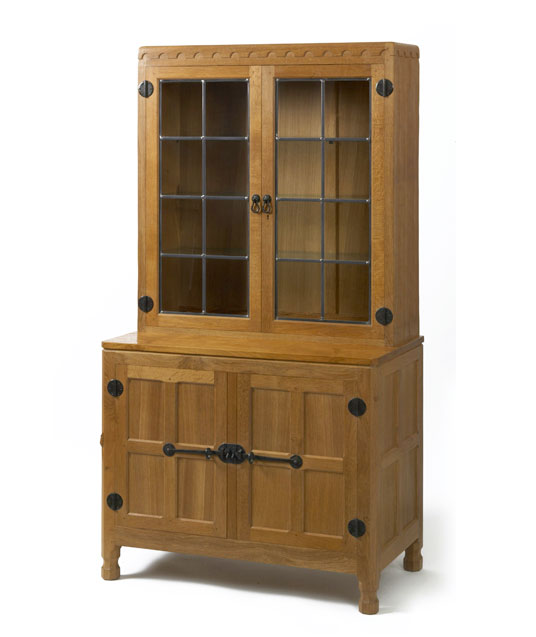 CD070 Solid Oak Drinks Display Cupboard 3'0