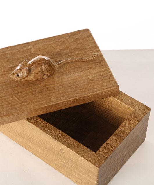 Solid Oak Trinket Box GS130