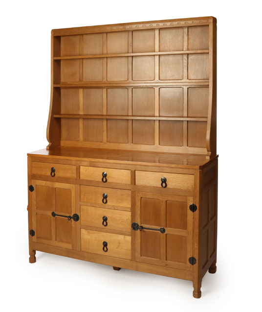 SD050 Solid Oak Welsh Dresser 5'0