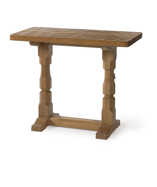 TA120 Solid Oak Extension Table 3'L