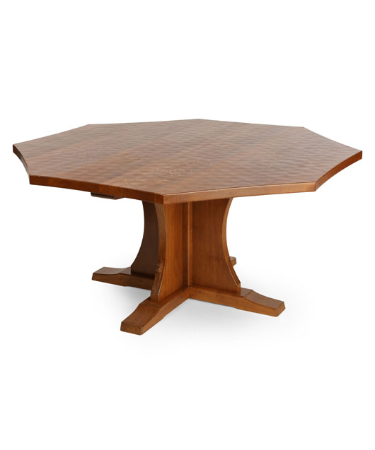 TA080 Solid Oak Octagonal/ Round Dining Table 5'Dia