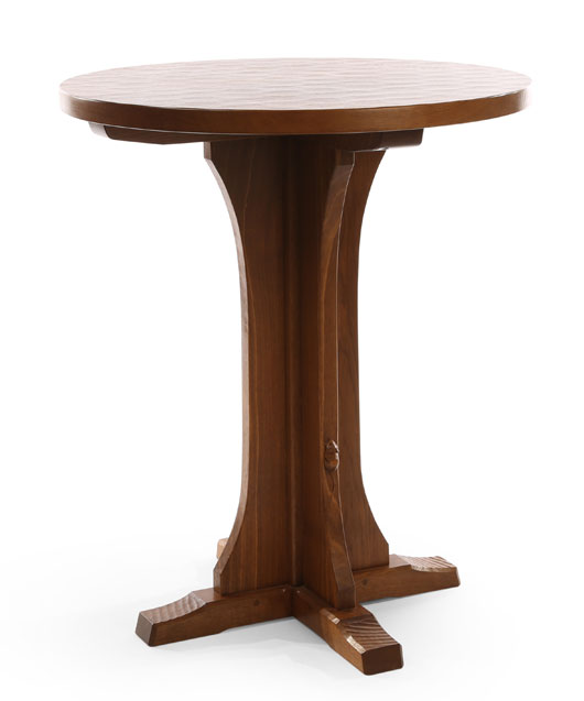 TA131 Solid Oak Octagonal/ Round Breakfast/Bar Table 3'Dia